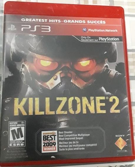 Jogo Ps3 Killzone 2 Original - Mídia Física
