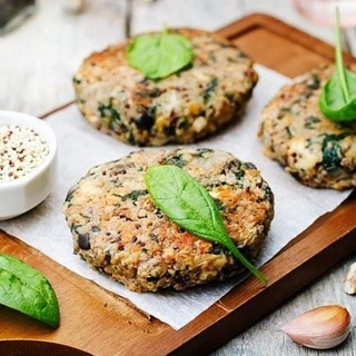 Milanesas De Lentejas Zanahoria Espina Ajo Con Semillas