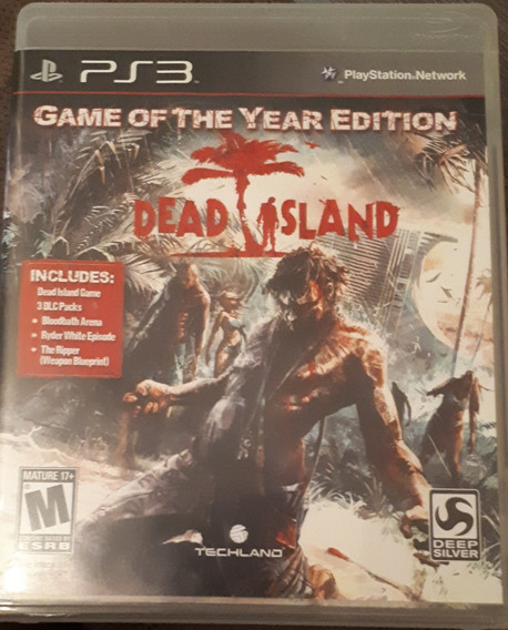 Jogo Ps3 Dead Island - Game Of The Year Edition
