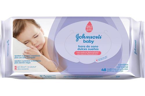 Toallitas Humedas Bebe Johnsons Baby Violeta 48 X 24 Paquete