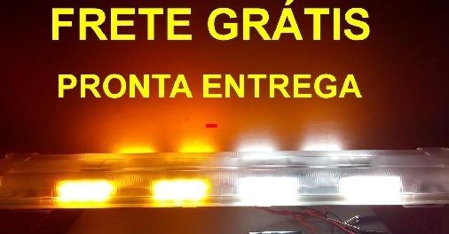 Kit 2 Giroflex Led 63 Cm,power Leds 1w, Super Forte, Guincho