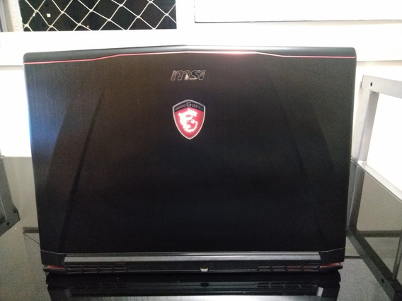 Laptop Gamer 14 Msi Gs43vr Phantom Gtx 1060 R$4500 À Vista