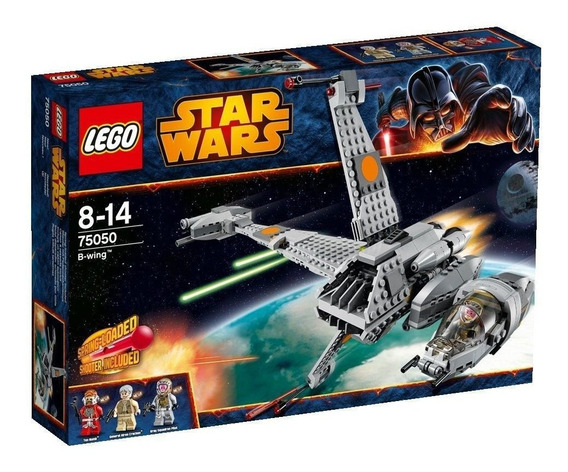 Brinquedo Novo Lacrado Lego Star Wars B-wing 75050
