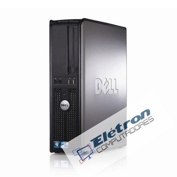 Lote 2 Micro Dell Optiplex Core 2 Quad Mem 4gb Ddr3 Hd160gb