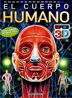Libro. El Cuerpo Humano Con Gafas 3d. Ed Elefantino/ Maya