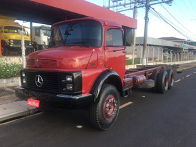 Mercedes-benz Mb 1318 1987 Truck Chassi Impecavel