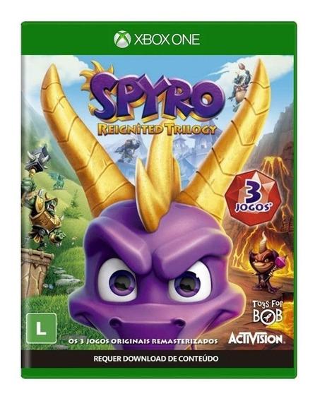 Spyro Reignited Trilogy - Xbox One Mídia Física Em Português