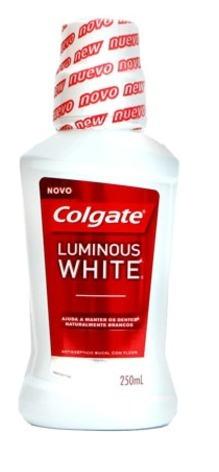 Enxaguante Bucal Colgate Plax Luminous White 250ml C/12 Unid