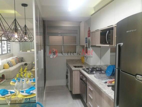 Apartamento Em Condomínio Clube Para Venda No Jardim Canhema - Minha Casa Minha Vida - 2858