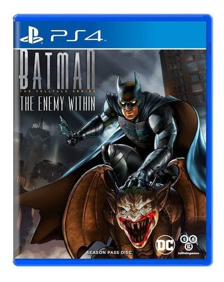 Batman The Enemy Within - Ps4 - Midia Fisica Lacrado