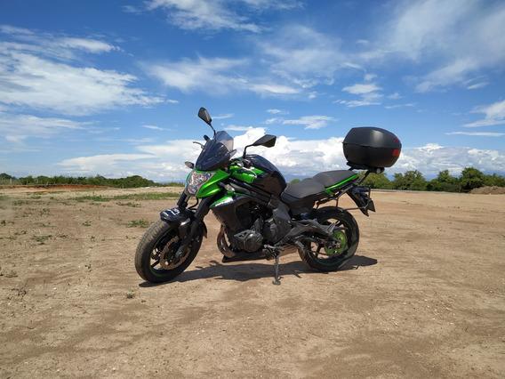 Kawasaki Er6n Negra Verde