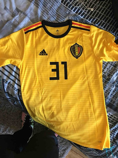 Camisa Seleção Bélgica Copa - 2018 Personalize Grátis