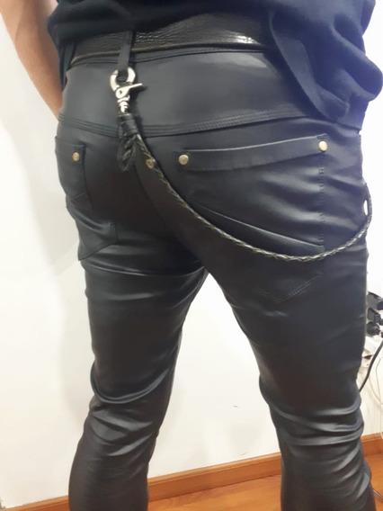 Pantalon Hombre Engomado Elastizado 38 Al 50 Caballito Rock