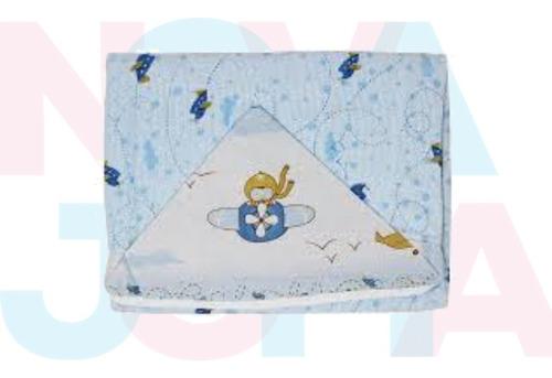 Toalha Felpuda Forrada Com Capuz - Papi Textil  0900