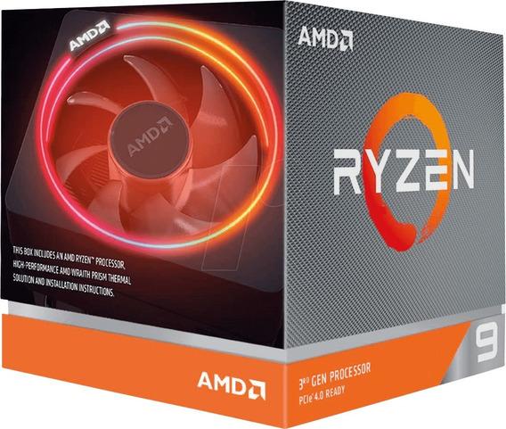 Processador Amd Ryzen 9 3900x 3.8ghz Cache 70mb Am4 12/24
