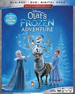 Blu Ray Olaf´s Frozen Adventure Disney Original Cover