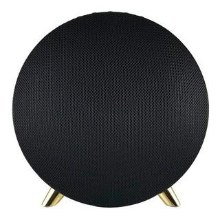 Parlante Bluetooth Inova Luxury Cromado Sonido De Calidad