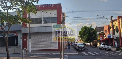 Salão Comercial Para Alugar 280 M²  - Centro - Sumaré/sp - Sl0852