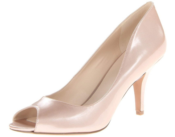Tacones Nine West Nuevos Originales Color Piel 6 Westies
