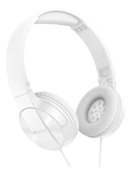 Auriculares De Vincha Pioneer Se-mj503 Headphone - Blanco