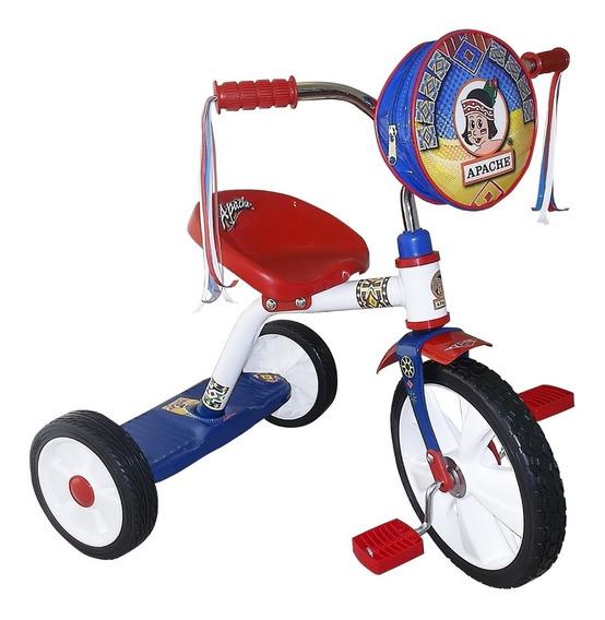 Triciclo Apache Infantil 916 Rodada 14 Con Bolsita