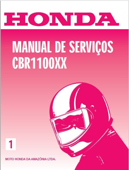 Manual Serviços Honda Cbr 1100xx Português Pdf