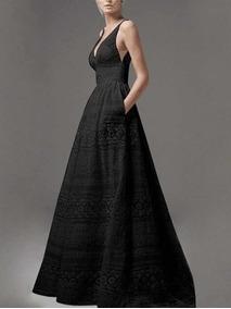 Hermoso Y Exclusivo Vestido De Encaje