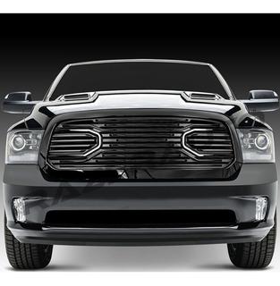 Parrilla Gloss Black Dodge Ram Rt Big Horn 2013-2018