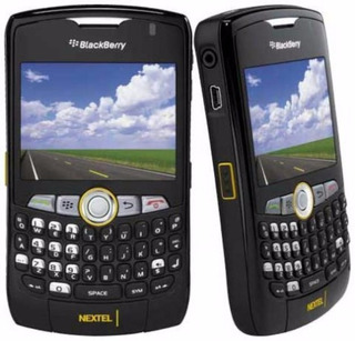 Rádio Nextel Blackberry 8350i