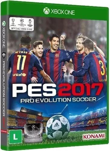 Game Xbox One Pes 2017 - Novo - Original - Lacrado