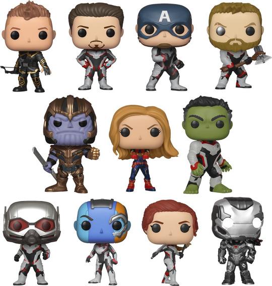 Avengers Endgame Marvel Colección Completa 11 Funko Pop