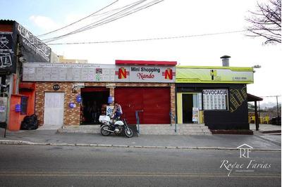 Salão Comercial Para Locação, Jardim Ester Yolanda, São Paulo. - Sl0141