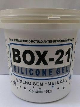 Silicone Gel Box 21 Sem Meleca O Melhor 10 Kgs