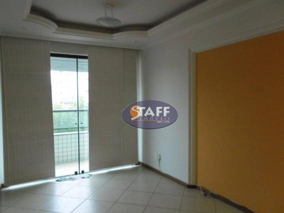 Apartamento Com 03 Dormitórios Para Locação Fixa, 105 M² - Bairro Centro - Cabo Frio/rj - Ap0025