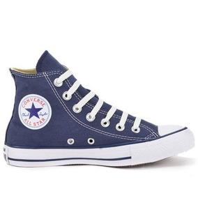 Tênis Converse All Star Azul Cano Alto Ct00040003