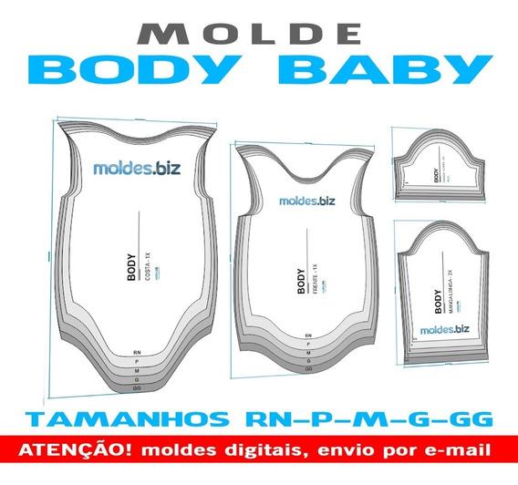 Moldes Body Baby - Em Corel E Em Pdf