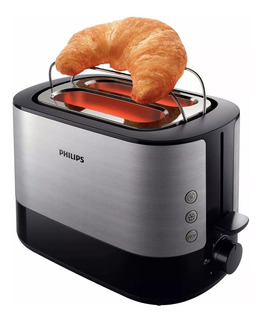 Tostadora Philips Hd2637/90 Viva Collection Con Rejilla