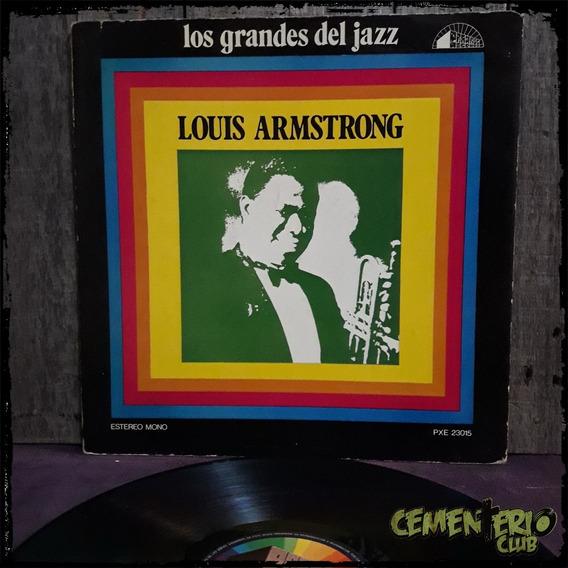 Louis Armstrong - Los Grandes Del Jazz - Vinilo Lp