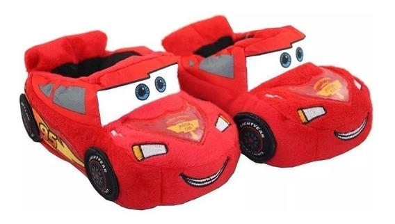 Pantuflas Infantiles Chicos Cars Rayo Mc Queen Casa David