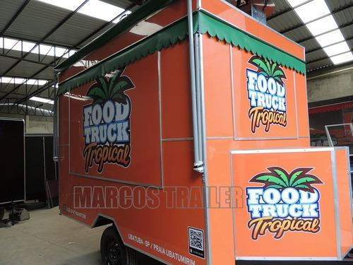 Imagem 1 de 13 de Trailer De Lanche Food Truck