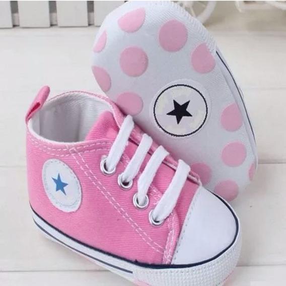 Sapatinho Bebê Tipo All Star Tênis Infantil Baby Sapato