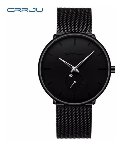 Relógio Masculino Pulseira De Aço Inox Prova D