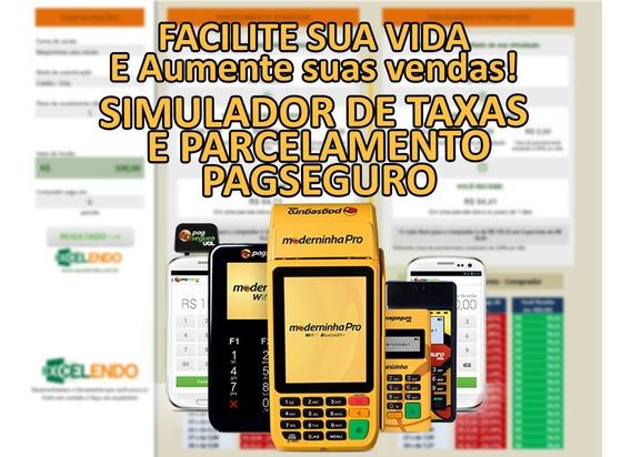 Planilha Calculadora De Parcelamento E Taxas Pagseguro