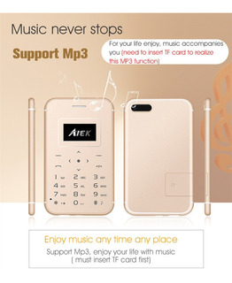 Celular X8 M5 C6 Mini Ultra Fino Bluetooth - Pronta Entrega