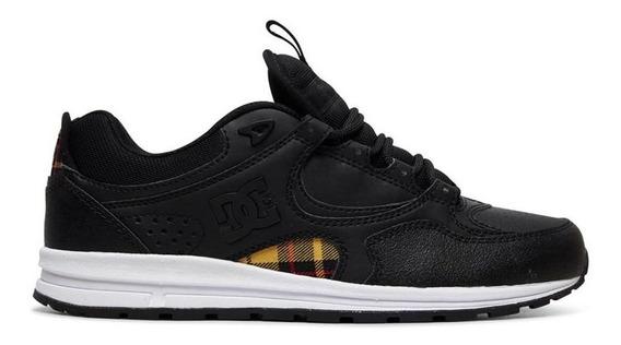 Tênis Dc Shoes Kalis Lite Se Imp Black Plaid Adys100382bpa