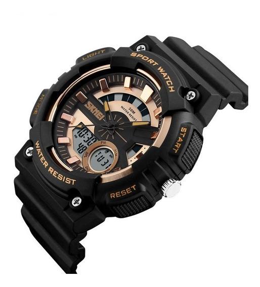 Relógio Masculino Skmei Original Modelo 1235 Prova Dágua 50m