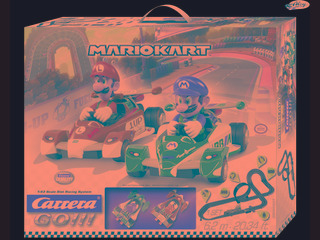 Pista De Carrera Mario Kart Original