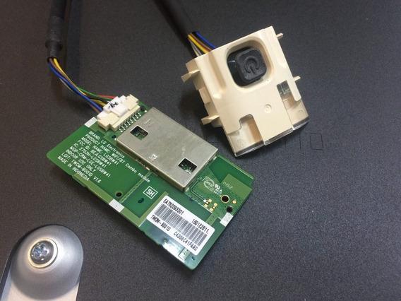 Botão Power E Placa Wifi Tv Lg Lb6500