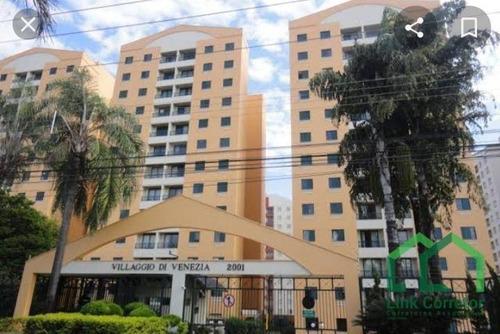 Apartamento Com 2 Dormitórios Para Alugar, 52 M² Por R$ 1.400,00/mês - Mansões Santo Antônio - Campinas/sp - Ap1904