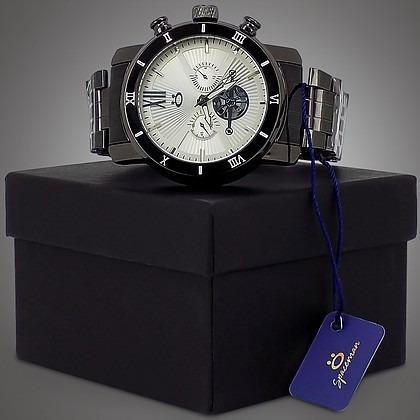 Relógio Masculino Preto, Bonito Original Barato + Caixa